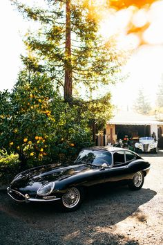 Jaguar E-Type , one of the legends of car design. Best Picture For Vintage Cars corvette For Your Jaguar Xj, Jaguar E Type, Jaguar Cars, Black Jaguar, Tata Motors, Automotive Design, Amazing Cars, Alfa Romeo, Fast Cars