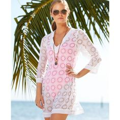 Kenneth Cole Reaction Laser-Cut Cover Up $58