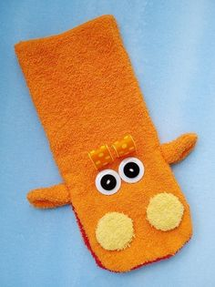 Toy Sewing Pattern for Wash Cloth Hand Puppets by preciouspatterns, $3.99