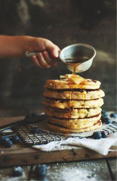 blueberry pancake by melanie de fazio