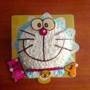 ドラえもん 立体ケーキ by ピクとも レシピ 立体ケーキ ケーキ ドラえもん