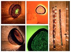 Wire Mesh, Copper, Sculptures