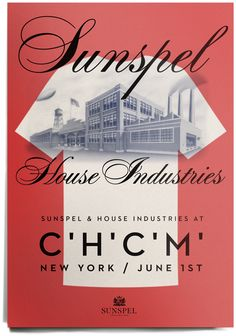 House Industries, Sunspel, Neutraface, Davison Spencerian, House Factory