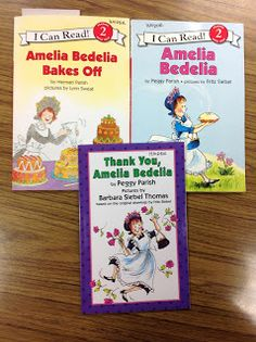 Liz's Speech Therapy Ideas: Amelia Bedelia Many Amelia Bedelia books are humorous due to the use of multiple meaning words.  What a great way to begin a discussion of these words.
