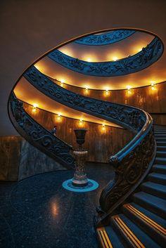 Bramonte Staircase - Vatican Museum, Rome.