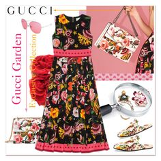 """Presenting the Gucci Garden Exclusive Collection"" by betiboop8 ❤ liked on Polyvore featuring Gucci and gucci"