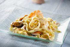 Linguines aux fruits de mer Vol Au Vent, Foie Gras, Cheat Meal, Pesto, Macaroni And Cheese, Seafood, Spaghetti, Meals, Ethnic Recipes