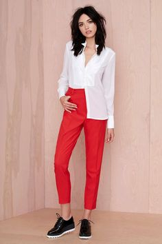 Nasty Gal Walk the Line Trousers