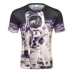 193bab2f 2017 Popular Men's T-shirt Casual t shirt Men Tees Tops Animal Lioneticdress