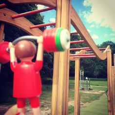 @thecommon monkey see monkey do great shoulder and lat workout #wanderingweightlifter  #swing