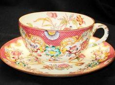 Sarreguemines MINTON GRANDEUR PINK simplyTclub Tea cup and saucer