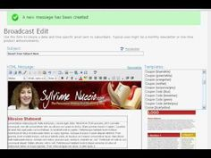 How To Create Your Own Customized Aweber Email Template