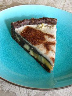 Banános-kókuszos csoki torta: ~ Nyers konyha