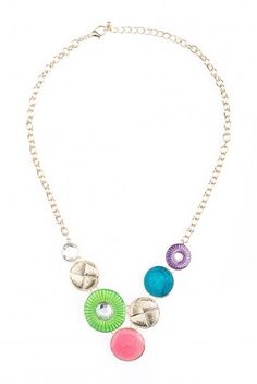 Type 1 Lily Pad Necklace - $16.97