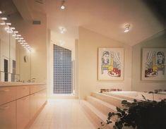 "palmandlaser: ""From Bath Design "" 80s Interior Design, 1980s Interior, Interior Decorating, E Room, Art Deco, Vintage Interiors, Retro Home, Bath Design, Office Interiors"