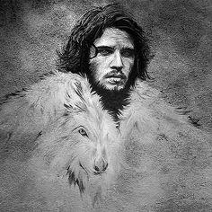 Jon Snow by John Aslarona