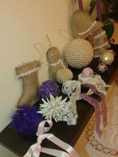 Διάφορα χριστουγεννιατικα στολίδια! http://goo.gl/IsKgvK