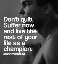 Motivational Quote from Muhammad Ali