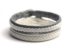 Swedish Lapland bracelets Set of Two Sami by simplyyoujewelry, $95.00