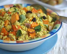 Moroccan Millet & Butternut Squash Pilaf (vegan, gluten-free)