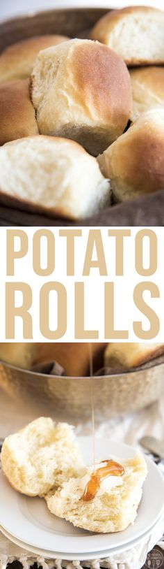 These potato rolls h