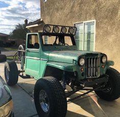 This particular classic jeep fun is definitely a very inspirational and fantastic idea Cj Jeep, Jeep 4x4, Jeep Truck, 4x4 Trucks, Custom Trucks, Willys Wagon, Jeep Willys, Trophy Truck, Cool Jeeps