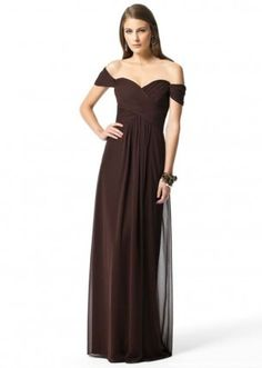 Chocolate Bridesmaid Dress