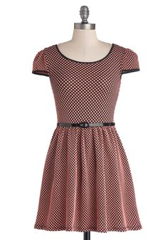 Sugar and Spicy Dress. Want to feel all dolled up in pretty dress that packs a punch? #pink #modcloth