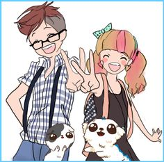 Simon, Martina, Spudgy and Dr.  Meemersworth...got to LOVE these guys!!!  Here is the link to their Official Website: http://www.eatyourkimchi.com