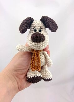 PDF Crochet Pattern ENGLISH Evis the Dog Amigurumi