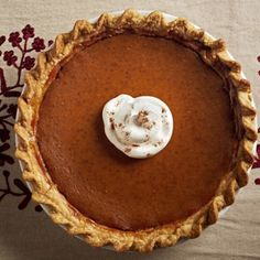 Apple Butter Pumpkin Pie    #dessert