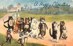 I LOVE Louis Wain. Would you look at that proud-ass cat with the cane and bow-tie?