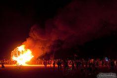 Fertillitree Burns  Photo of: Fertillitree East Bay CORE, by Dan Swain, Burning Man 2012, Black Rock City, Nevada