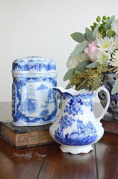 Blue and White Vignette-Housepitality Designs-9