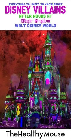 Everything You Need to Know About Disney Villains After Hours at Magic Kingdom Walt Disney World Disney World Resorts, Walt Disney World, Disney World Vacation, Disney Vacations, Disney Trips, Disney Travel, Disney Parks, Disney Family, Vacation Places