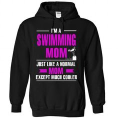 Cool Swimming mom T Shirts, Hoodies. Check Price ==► https://www.sunfrog.com/LifeStyle/Cool-Swimming-mom-1921-Black-26572520-Hoodie.html?41382