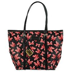 minnie mouse bow tote by dooney and bourke medium black