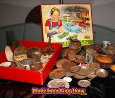 MADELMAN BLOG SHOW: Cacharritos de cocina antiguos