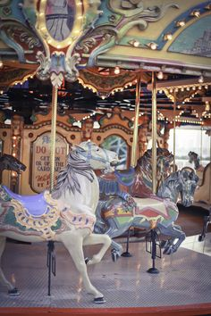 Carousel ... i always chose the horses that went up and down to start with