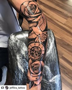 Arm sleeve🔥🔥✨ For inquiries hit my dm for bookings Half Sleeve Tattoos Forearm, Half Sleeve Tattoos For Guys, Forarm Tattoos, Cool Forearm Tattoos, Best Sleeve Tattoos, Tattoo Sleeve Designs, Leg Tattoos, Tiger Tattoo Sleeve, Wrist Tattoos Girls