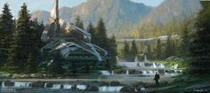 Halo Project- City Designs, Dylan Cole