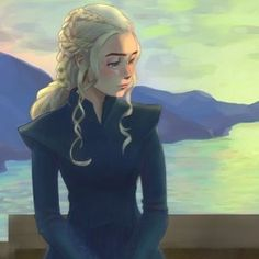 Still waiting and waiting...next ep #wip #gameofthrones #got #gotfanart #daenerystargaryen #daenerysstormborn #daenerys #gameofthronesfanart