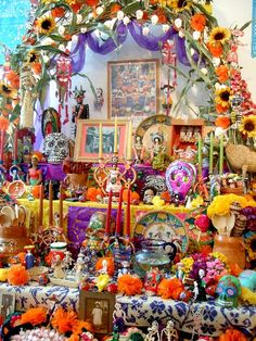 - I have always admired the home altars of Mexican families to remember and honor their deceased loved ones -