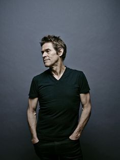 William Dafoe by Brad Trent for the Wall Street Journal's 'Weekend Confidential' section. Famous Celebrities, Celebs, Willem Dafoe, Williams James, Male Poses, Movie Costumes, Portrait Inspiration, Famous Faces, Mad Men