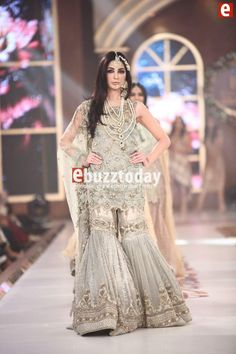 Sehar Atif at Telenor Bridal Couture Week 2015