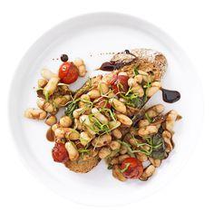 Italian beans on toast