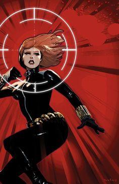 Black Widow #4 by Daniel Acuña