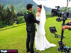 ♥♥♥ Hawaii Five-O wedding episode photos