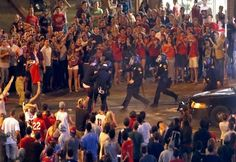 Police fire pepper spray at Arizona students - http://conservativeread.com/police-fire-pepper-spray-at-arizona-students/