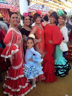 Flamencas en la feria